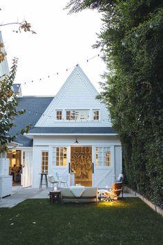 #white #farmhouse exterior | outdoor space