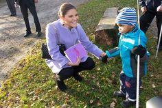 Crown Princess Victoria visits Fagersta