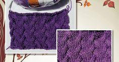 """Olá! Gente, ganhei um livro maravilhoso com cada ponto de tricô mais lindo que o outro! O nome do livro é """"The knit stitch pattern ha..."""