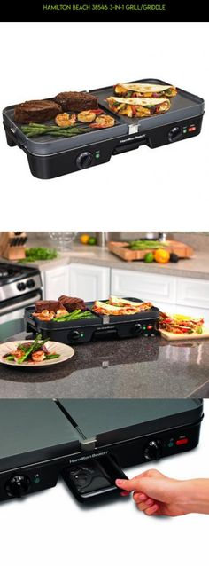 Hamilton Beach 38546 3-in-1 Grill/Griddle #products #grills #tech #technology #electric #racing #parts #indoor #drone #plans #shopping #camera #kit #gadgets #fpv