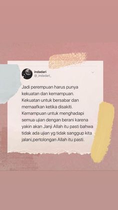 Quotes Rindu, Babe Quotes, Text Quotes, Self Love Quotes, Mood Quotes, People Quotes, Daily Quotes, Tumblr Quotes, Islamic Inspirational Quotes