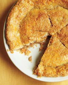 Ginger, cinnamon, and nutmeg add bold flavor to this thin-pie classic. Top it with vanilla ice cream for an extra nice touch.