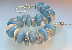Mermaid Blue Aquamarine Gemstones & Sterling