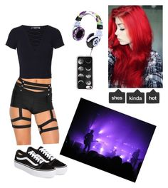 """""""concert"""" by nikus-hood on Polyvore featuring T By Alexander Wang, Vans and Casetify"""