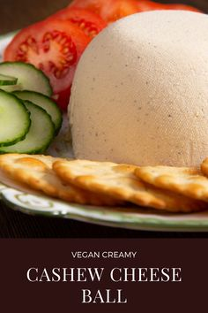 A simple recipe for cashew cheese It is creamy, savoury and full of flavour, perfect for all your vegan cheese needs! Cashew Cheese, Vegan Cheese, Vegan Christmas, How To Make Cheese, Cheese Ball, Cheese Recipes, Dairy Free, Easy Meals, Breakfast