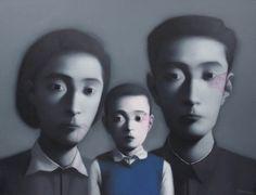 An image of Big family no.4 by ZHANG Xiaogang