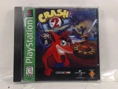 CRASH BANDICOOT 2 CORTEX STRIKES BACK --- PLAYSTATION PS1 Complete CIB w/ Box, M