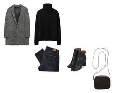 """(28)"" by ybr7 ❤ liked on Polyvore featuring Zara, Uniqlo, Paige Denim, The Row and Topshop"