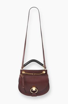 I know what i want for my Birthday!! This Goldie Bag by Chloe in Dark Velvet it a beauty