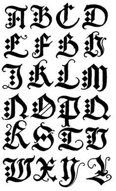 black letter with diamond serif Graffiti Lettering Fonts, Chicano Lettering, Tattoo Lettering Fonts, How To Write Calligraphy, Graffiti Alphabet, Creative Lettering, Types Of Lettering, Calligraphy Letters, Typography Fonts