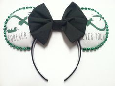 Handmade Mouse Ears  Forever Young Peter Pan by earsbydesign