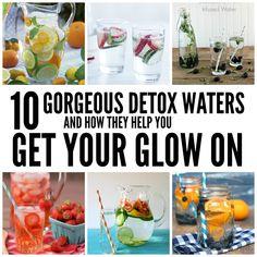 10 detox waters that look as good as they taste!