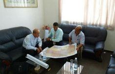 اخبار اليمن - مدير عام هيئة المساحة #الجيولوجية و#الثروات المعدنية فرع #حضرموت يعرض #الخرائط الطبوغرافية لمشروع تطوير منظومة #كهرباء_حضرموت…