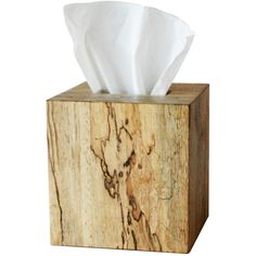 Selamat Designs Glenwood Tissue Cover With Slider Natural By (80 CAD) ❤ liked on Polyvore featuring home, bed & bath, bath, bath accessories, filler, home decor, bathroom decor, decor, bathroom accessories and wooden bathroom accessories
