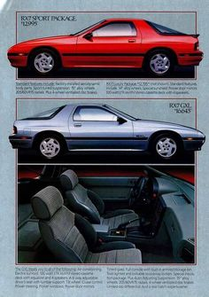 Classic Japanese Cars, Classic Cars, Mazda Cars, Old School Cars, Import Cars, Car Posters, Rear Wheel Drive, Car Advertising, Old Ads