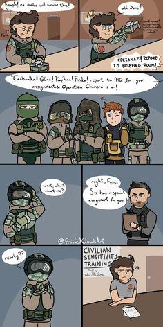 Rainbow Six Siege and its associated operators belong to Ubisoft.