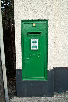 Clonskeagh - Green Letter Box