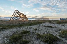 rintala eggertsson architects salt festival installations norway designboom