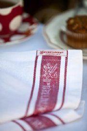 Glass Cloth Napkins (Set of 6) - Red