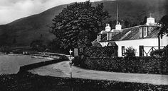Old photograph of Ardentinny, Argyll, Scotland