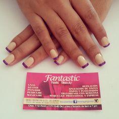 Dale un giro al clásico frances! #fantasticnailsandbeauty #original #loveit
