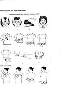 Free for Download: PDF Photos Showing Reiki Hand Positions