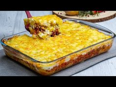 Moussaka, Serbian Recipes, Ground Beef Recipes, Lasagna, Macaroni And Cheese, Main Dishes, Favorite Recipes, Lunch, Meat