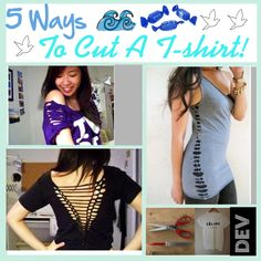 """5 Ways To Cut A Shirt!"" by beautiful-tip-girls-of-polyvore ❤ liked on Polyvore"