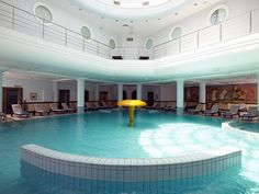 Voted as one of the top 10 spas in the world, Thermae Sylla Spa Hotel in Edipsos, Evia invites you to rediscover the healthy you and step into Nature's Spa! Indoor Swimming Pools, Wellness Spa, Hotel Spa, 5 Star Hotels, Greece, Around The Worlds, Luxury, Outdoor Decor, Amazing
