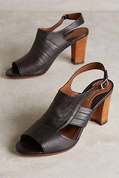 10826bc57ff Luiza Perea Memo Slingbacks Wedge Heels