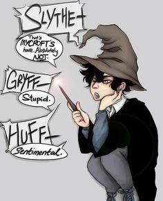 lol Sherlock vs. the Sorting Hat