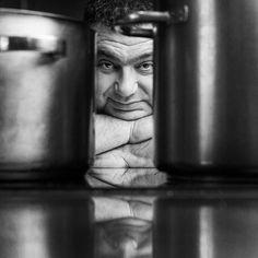 Greek chef Christoforos Peskias headshot portrait by portrait photographer Dimitris Vlaikos Modern Portraits, Studio Portraits, Athens Greece, Portrait Photographers, Pictures, Photos, Photography, Image, Inspiration