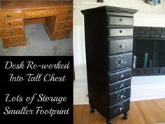 """Desk to """"Tower of Terror"""" ~ so going to be on the lookout for a desk or three..."""