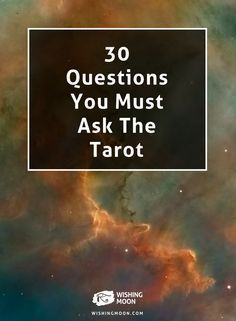 30 Questions You Must Ask The Tarot | Psychic Reading | Fortune Telling | Tarot Cards