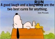 Long runs cure everything....
