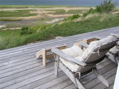 Walk to the beach by crossing the channel and dunes Truro ID 25379 Outdoor Sofa, Outdoor Furniture, Outdoor Decor, Cape Cod Vacation Rentals, Cape Cod Ma, Truro, Beach Chairs, Porches, Canopy