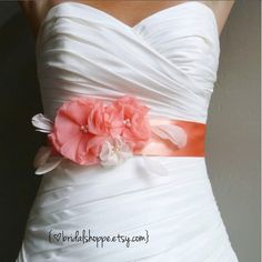 Wedding Sash Belt