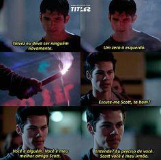 Trechos de séries // Teen Wolf // Stiles e Scott