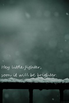 Reminds me of my winter solstice of the soul.. It was the darkest day but every day after continues to get brighter and brighter.