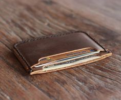 Minimalist Leather Wallet Specs:Material : LeatherShips :...