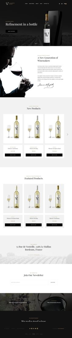 Villenoir BigCommerce Wine Theme #wine theme #winemaking #winery • Download ➝ https://themeforest.net/item/villenoir-bigcommerce-wine-theme/19694065?ref=pxcr