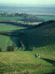 Travel the 100 miles through the South Downs Way via horse, bicycle, etc.  The trail goes from Winchester to Sussex