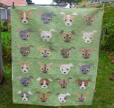 Hill Valley Quilter: My Day Dogs gone cute