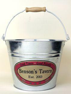 Custom Tavern Beer Bucket