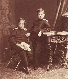 Grand Duke Dmitri and Grand Konstantin Konstantinovitch