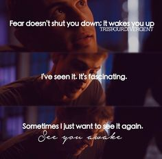 OMG this line! It's stabbing me right in the feels! #Fourtris #Divergent