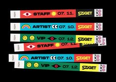 Sziget is a festival that celebrates freedom and equality.I used shapes and colors that express freedom and happiness also freshness and modernity.The identity focused on the varied line-up and many kinds of people who visit the festival.For me, Sziget… Festival Logo, Art Festival, Graphic Design Posters, Graphic Design Illustration, Label Design, Branding Design, Illustrations Poster, Maxon Cinema 4d, Design Graphique