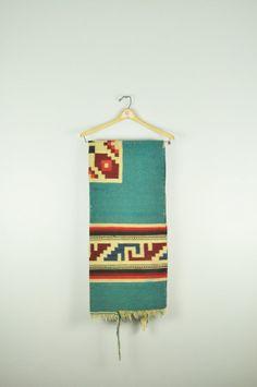 Vintage Mexican Rug. Discovered in Kalamazoo MI. by lynneandmarie