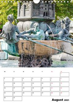 """Kalender: """"Unterwegs in Koblenz - eine Stadt mit Flair"""" Eine spannende Fotoreise mit bekannten Sehenswürdigkeiten von Koblenz. (Planer, 14 Seiten ) Planer, Statue Of Liberty, Garden Sculpture, Germany, Outdoor Decor, Travel, Pictures, Ruins, Old Town"""