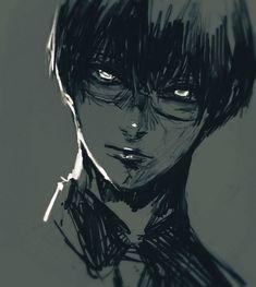 Kaneki, Tokyo Ghoul Drawing, Tokyo Ghoul Manga, Tokyo Ghoul Wallpapers, Cool Anime Guys, Scary Art, Chef D Oeuvre, Naruto Wallpaper, Dark Anime